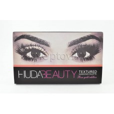 Тени Huda Beauty Textured Shadows Palette Rose Gold Edition оптом
