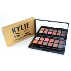 Палетка теней Kylie Kyshadow Pressed Powder Eyeshadow 12 цветов